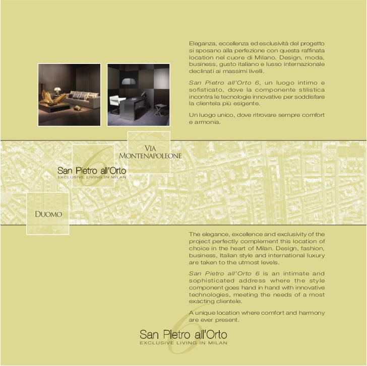 San Pietro all Orto 6 - Exclusive living in Milan - The ultimate prop…