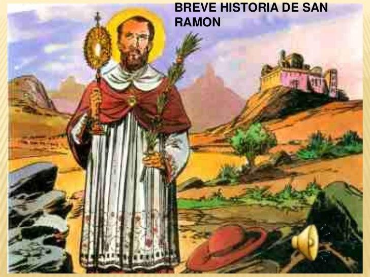 BREVE HISTORIA DE SANRAMON