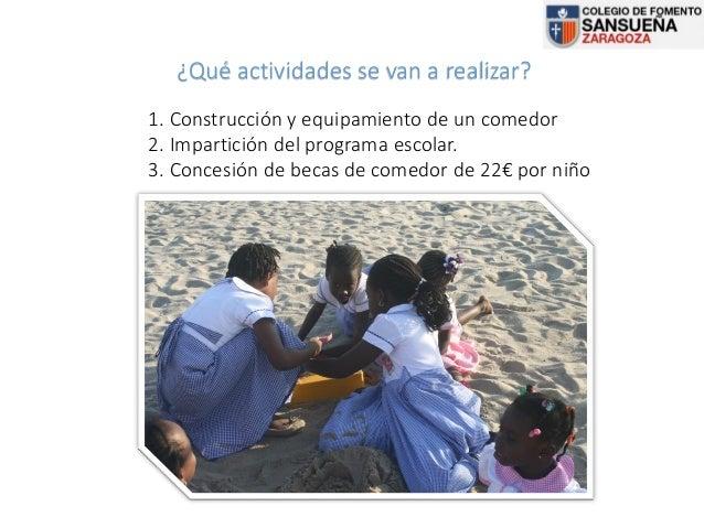Proyecto canfranc becas de comedor sansue a 2016 - Proyecto de comedor escolar ...