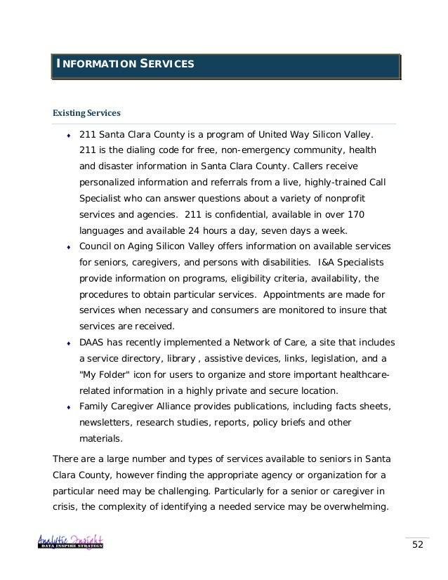 santa clara senior singles Detailed profiles of 5 assisted living facilities in santa clara,  in santa clara for a single  in santa clara santa clara seniors can expect.