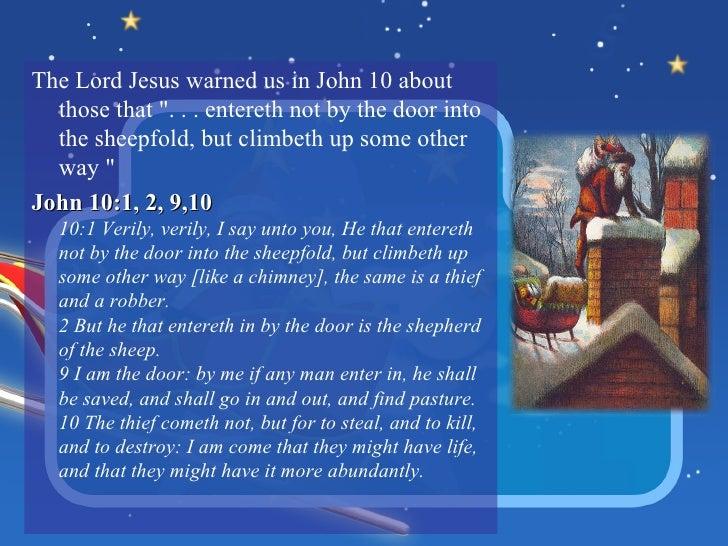 8 - Santa Claus And Jesus 2