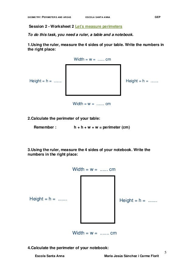 geometry worksheets perimeter and area. Black Bedroom Furniture Sets. Home Design Ideas