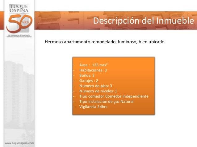 Descripción del Inmueble  - Tiempo de Construido: Entre 10 y 20 años - Valor venta:  $ 470.000.000  - Valor Administración...
