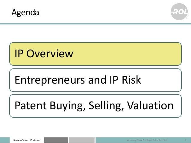 Santa Clara - Startups & IP Law Slide 2