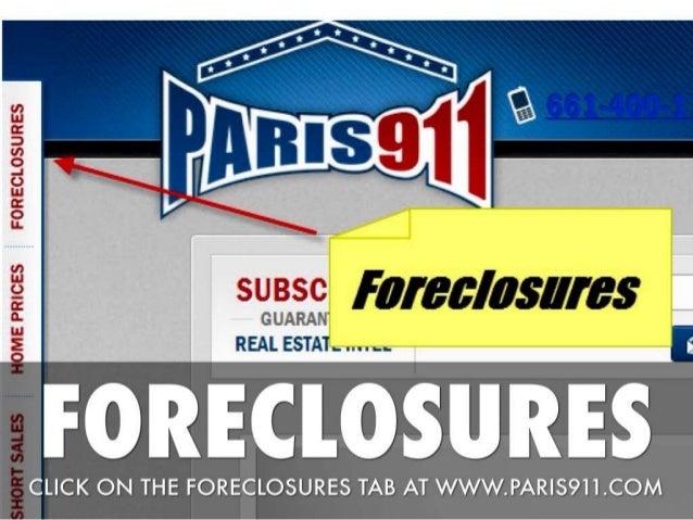 Santa Clarita foreclosures