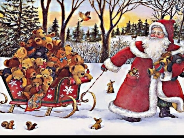 Santa Claus is coming.( Nikos) Slide 3