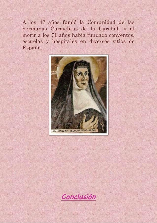 Santa Joaquina De Vedruna