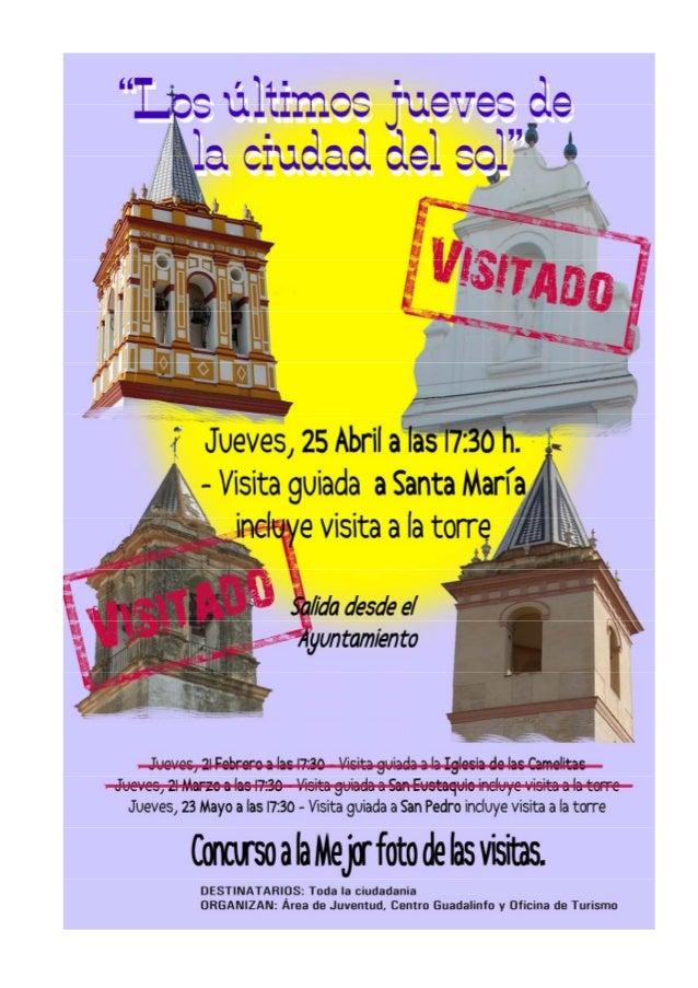 ECHALE UN VISTAZO A TUS MONUMENTOS.IGLESIA DE SANTA MARÍA2IGLESIA DE SANTA MARÍA.Podemos decir que la Iglesia de Santa Mar...