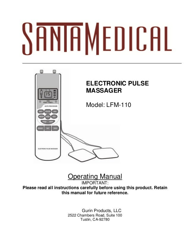 Operating Manual IMPORTANT: Please read all instructions carefully before using this product. Retain this manual for futur...