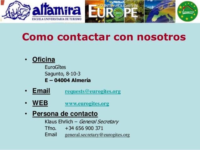 Turismo rural en europa for Oficina turismo sagunto