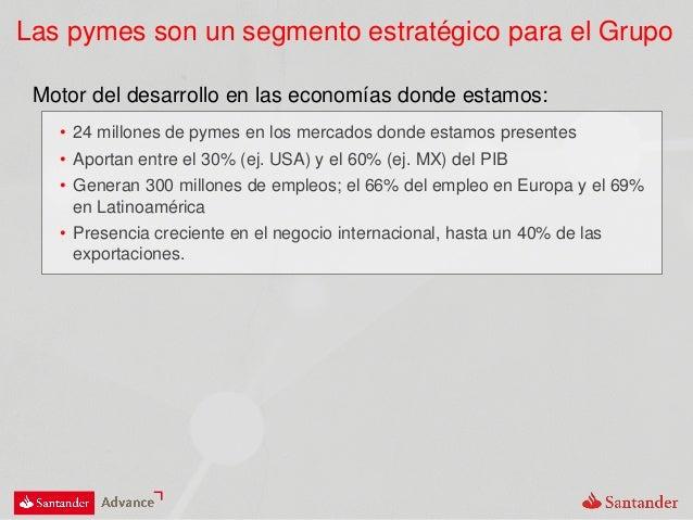 Presentación Santander Advance Slide 2