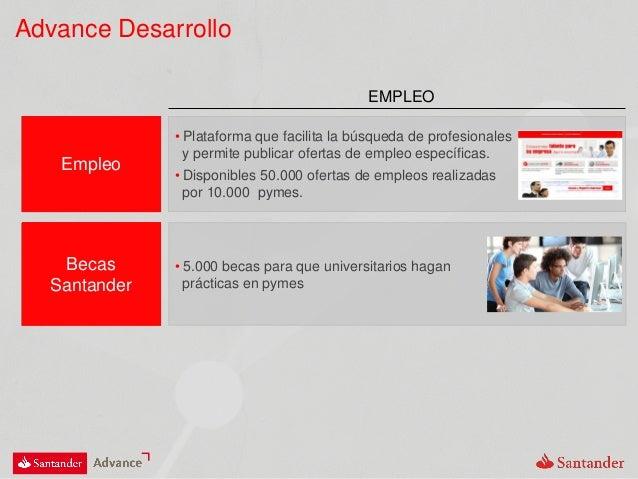 Presentaci n santander advance for Buscador de oficinas santander