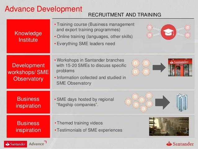 "Advance Development Business inspiration • SME days hosted by regional ""flagship companies"". Development workshops/ SME Ob..."