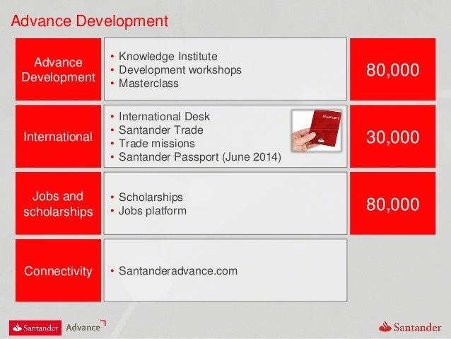 Advance Development Advance Development • Knowledge Institute • Development workshops • Masterclass 80,000 Jobs and schola...