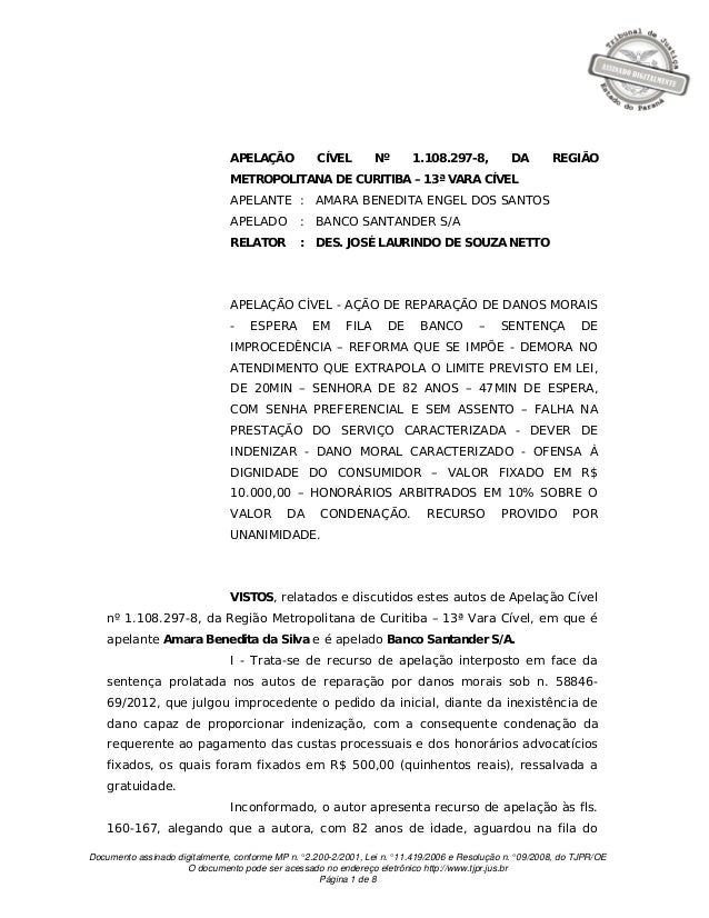 Documento assinado digitalmente, conforme MP n.° 2.200-2/2001, Lei n.° 11.419/2006 e Resolução n.° 09/2008, do TJPR/OE O d...