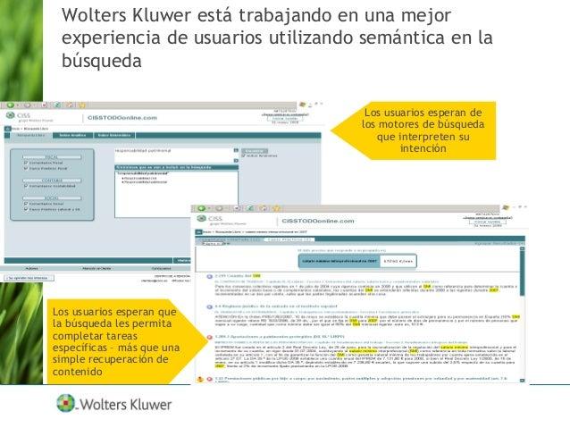 Wolters Kluwer LTRE está desarrollando competencias y habilidades para el uso de tecnologías semánticas  Desarrollando On...