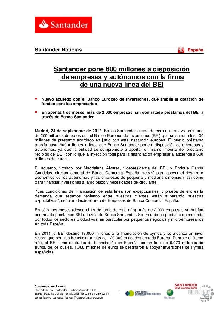Santander Noticias                                                                    España              Santander pone 6...