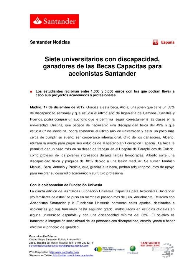 Santander Noticias                                                                 España             Siete universitarios...
