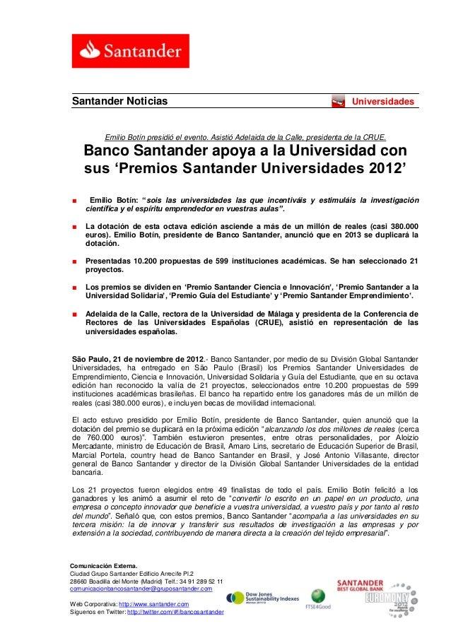 Santander Noticias                                                                    Universidades            Emilio Botí...