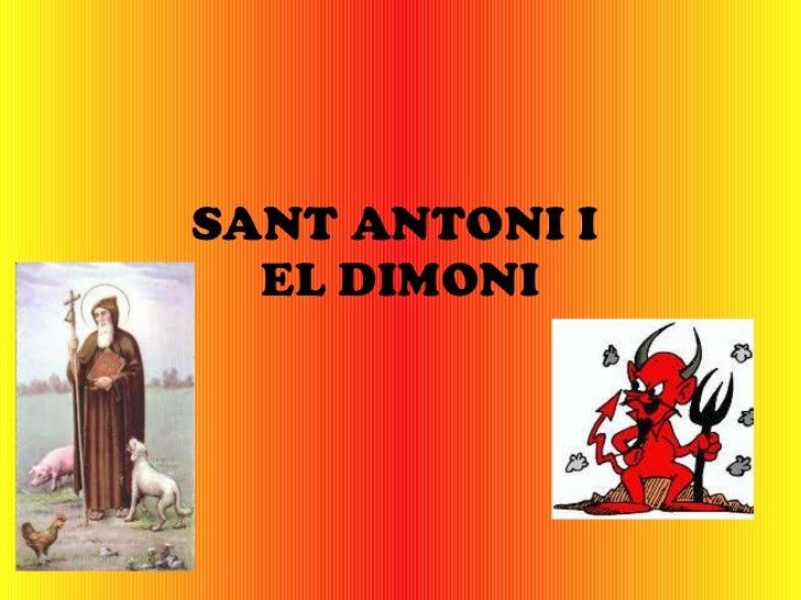 SANT ANTONI I  EL DIMONI