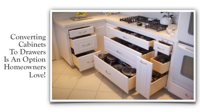 Converting Cabinets To Drawers