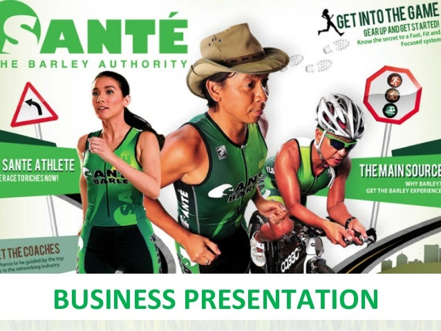 sante barley business presentation