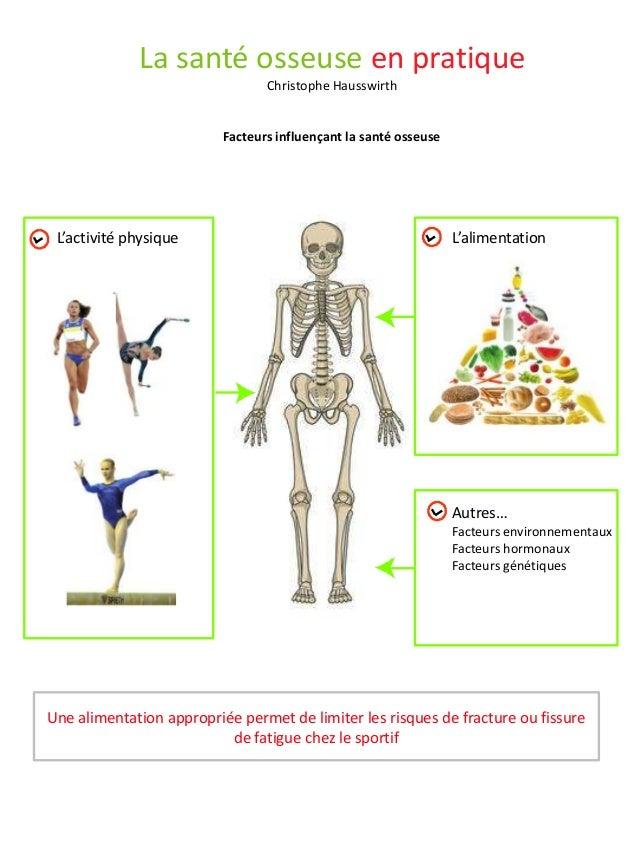 La santé osseuse en pratique                                 Christophe Hausswirth                          Facteurs influ...