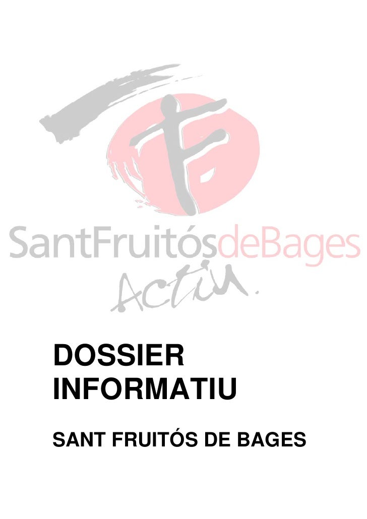 DOSSIERINFORMATIUSANT FRUITÓS DE BAGES