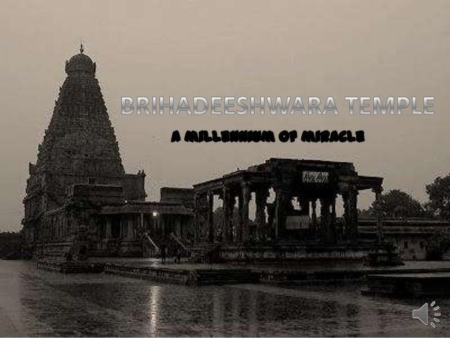 The Peruvudaiyar Kovil, also known as Brihadeeshwara, temple RajaRajeswaraTemple and RajaRajeswaram, at Thanjavur in the I...