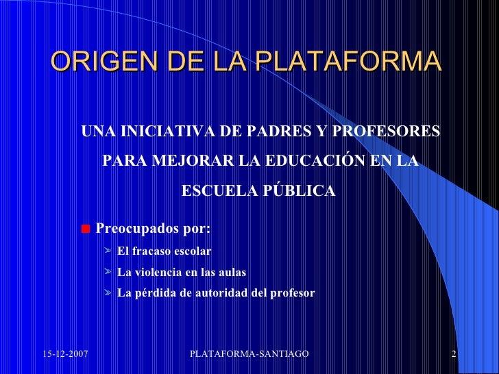 Santiago Manifiesto Slide 2