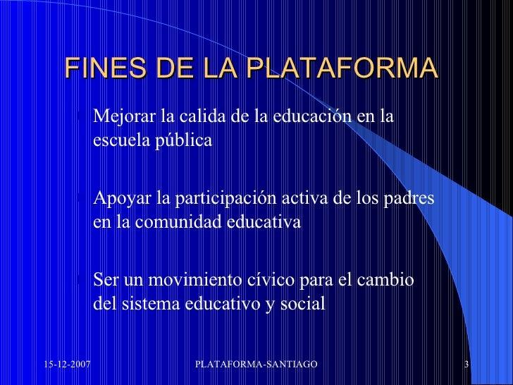 Santiago Manifiesto Slide 3