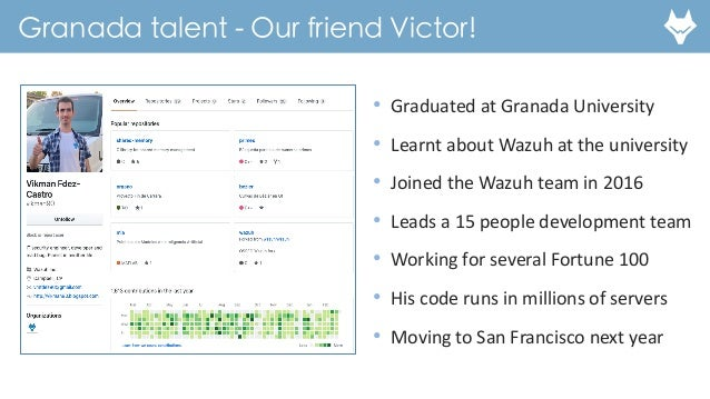 Santiago Bassett - Wazuh - Growing Cybersecurity Startups in