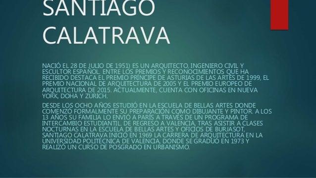 Santiago calatrava for Oficina zurich valencia