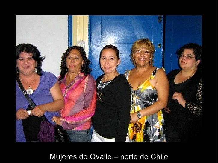 Mujeres de Ovalle – norte de Chile