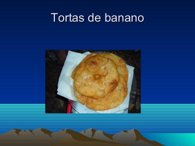 Tortas de banano
