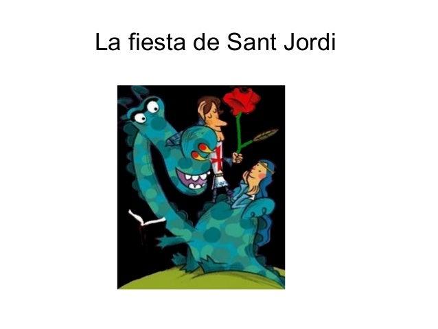 La fiesta de Sant Jordi