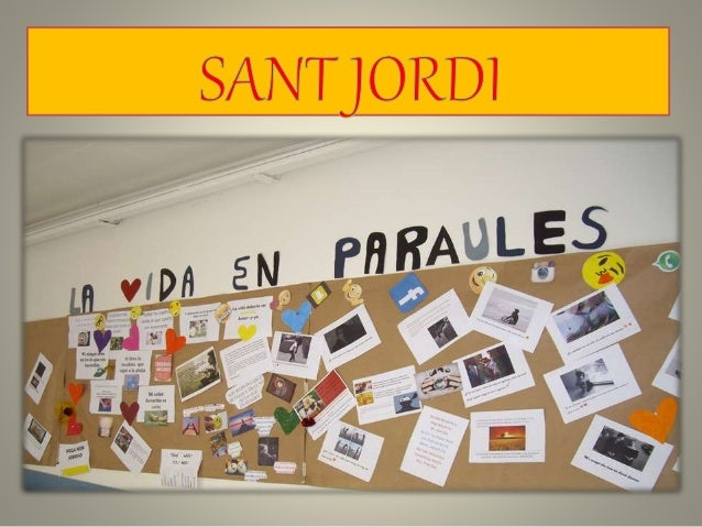 Sant jordi 2016 power point (2)