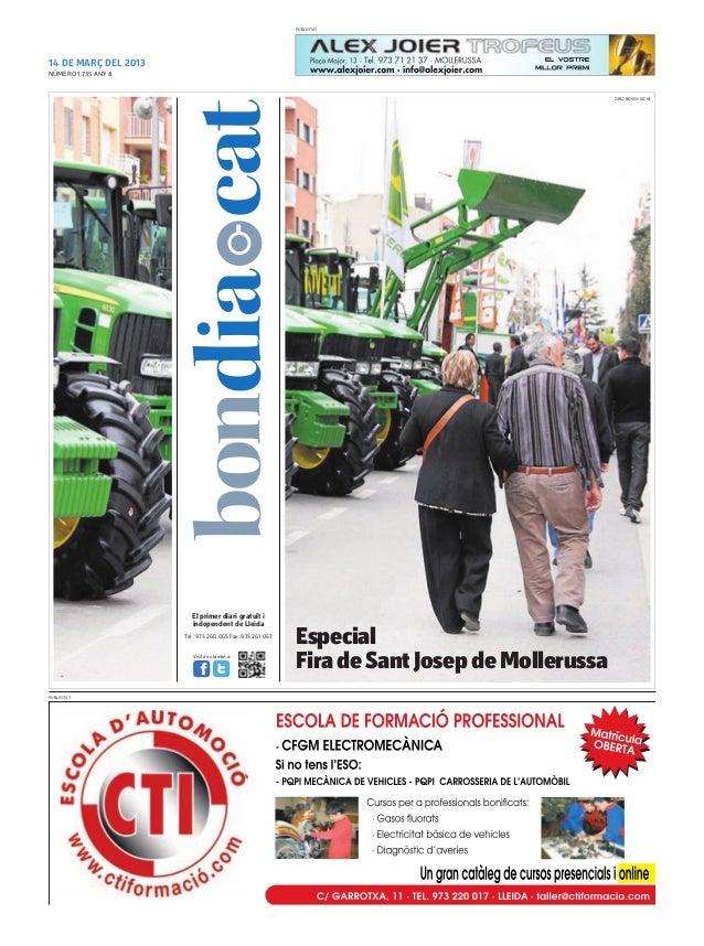 PUBLICITAT14 DE MARÇ DEL 2013NÚMERO 1.735 ANY 8                                                                           ...