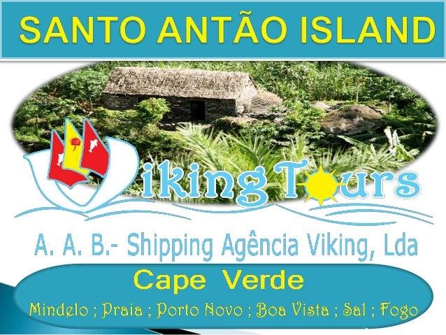 SANTO ANTÃO ISLAND