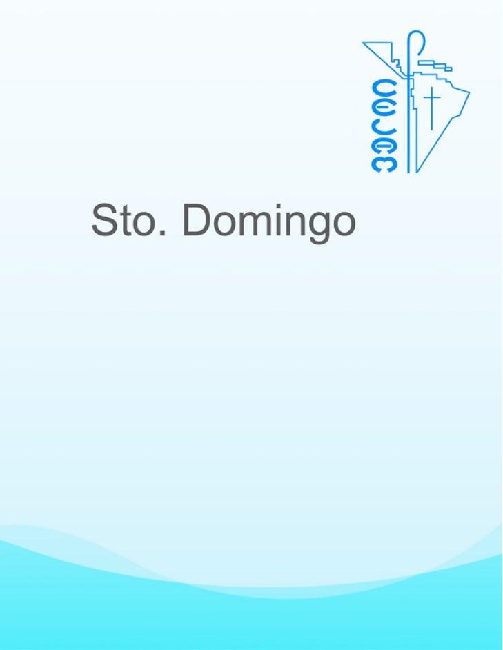 DOCUMENTO DE SANTO DOMINGO Este documeto es el resultado del trabajo de los obispos de Latinoamérica durante la           ...