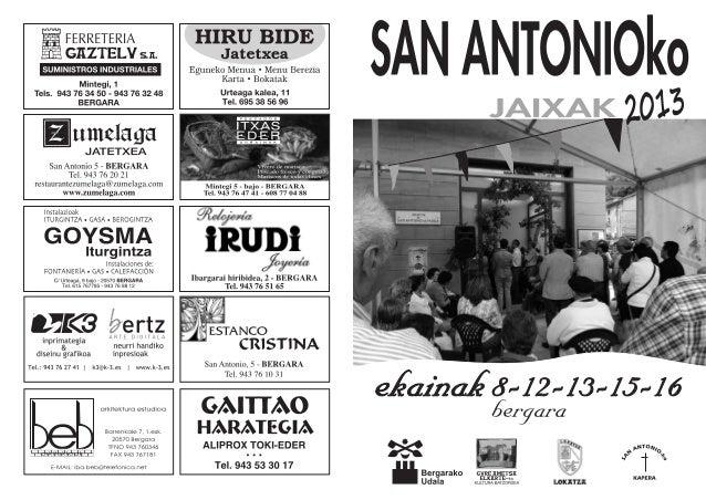 San Antonio Jaiak 2013