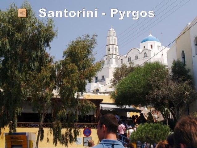 Santorini -  Pyrgos - 2008