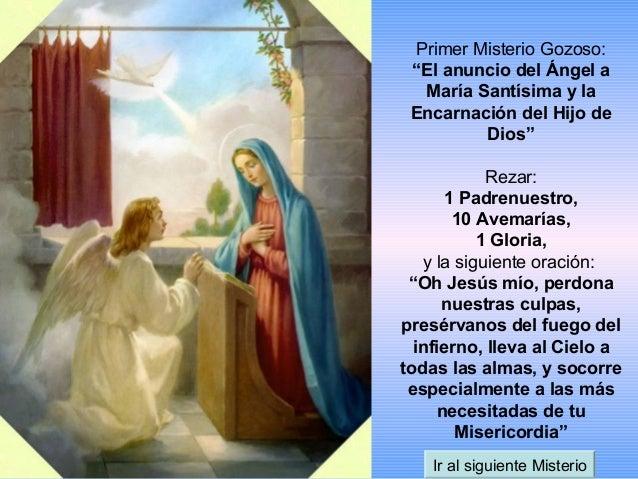 Como rezar el Santo rosario Slide 3