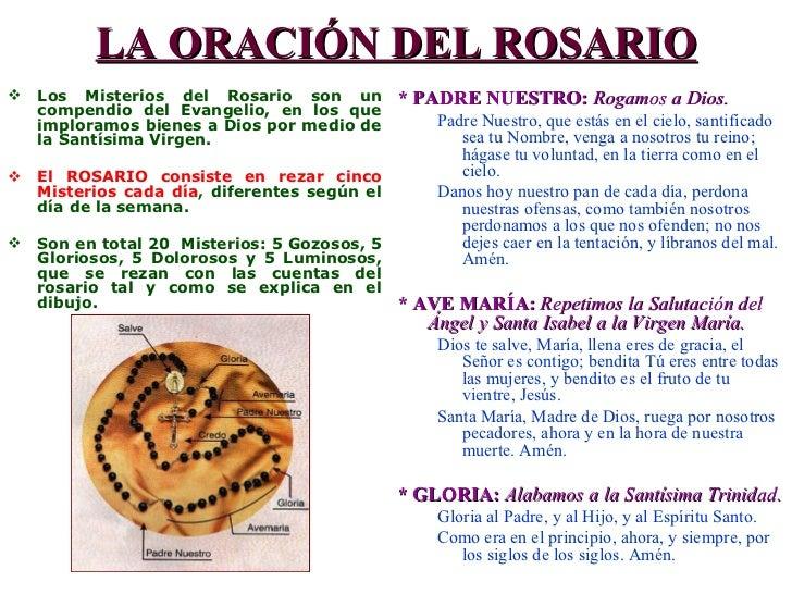 Santo Rosario: Misterios Gloriosos (miércoles y domingo) - Católicos ...