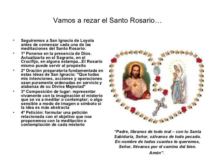 Santo rosario (misterios de luz)