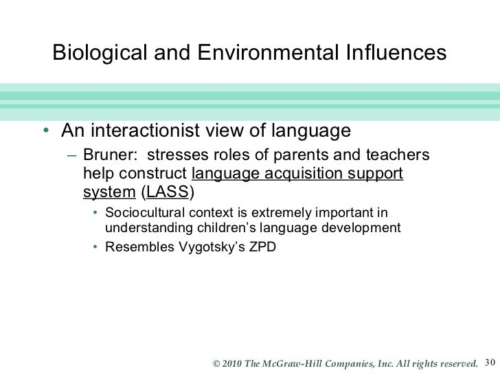 biological influences on language development