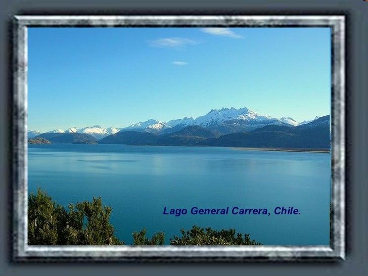 Lago General Carrera, Chile.