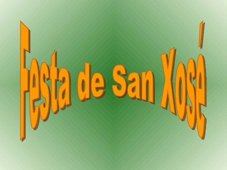 Festa de San Xosé