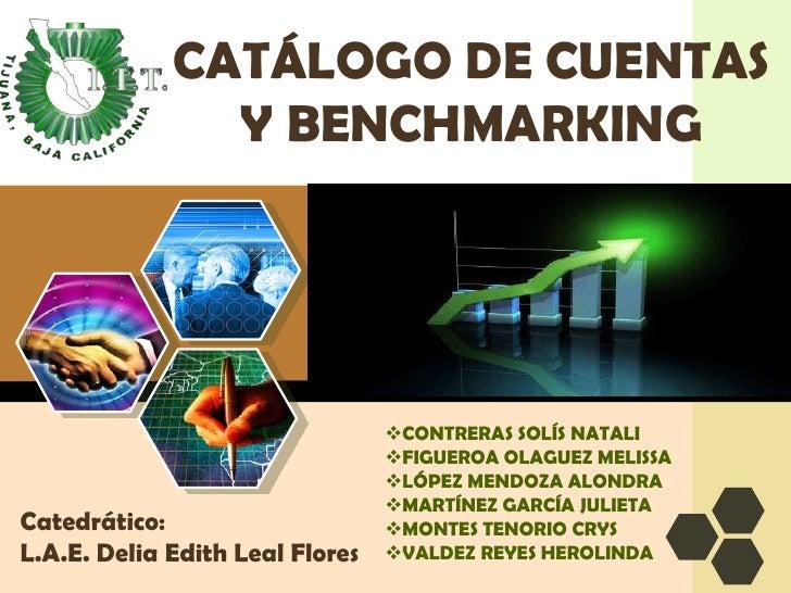 CATÁLOGO DE CUENTAS Y BENCHMARKING<br /><ul><li>CONTRERAS SOLíS NATALI