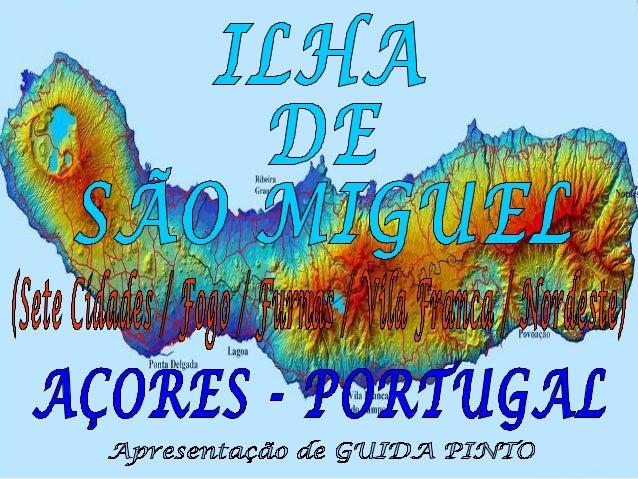 Ao se chegar à Ilha de São Miguel, o primeiro deslumbramento são as lagoas, com a sua beleza serena e poética. Em seguida ...